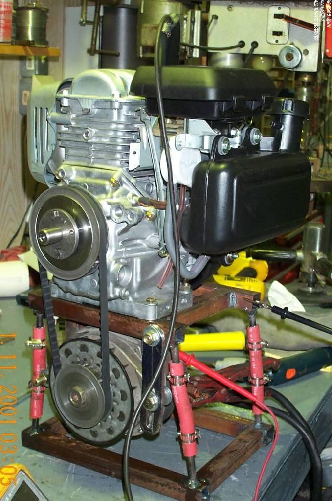 Generator fueling (John De Armond)