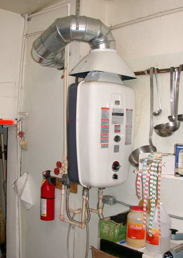 On Demand Water Heat John De Armond