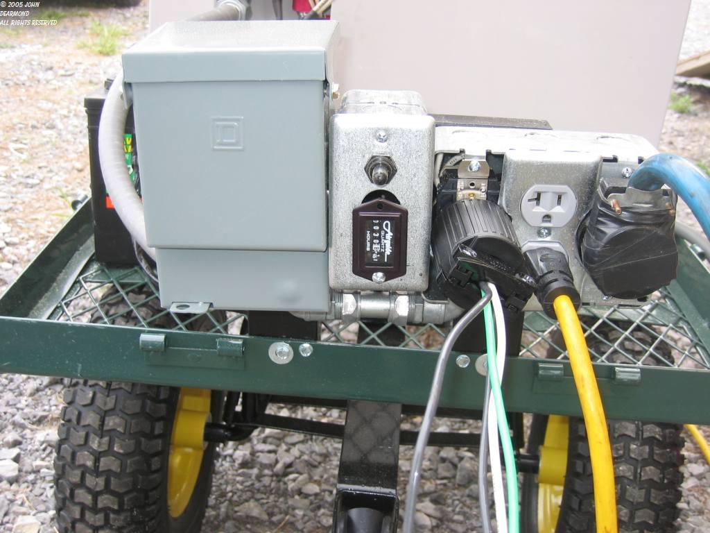 Generator transfer switches (John De Armond)