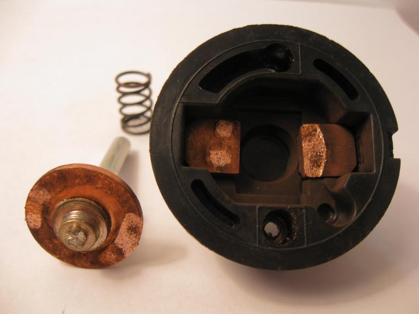 Solenoid contacts photo